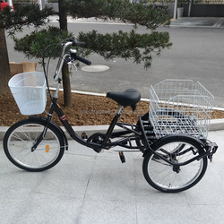 20 inch 3 wheel bicycle/cargo tricycle/pedal adult tricycle for elderly