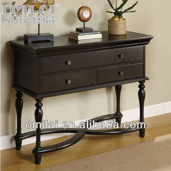 Multifunctional hallway console table with drawer