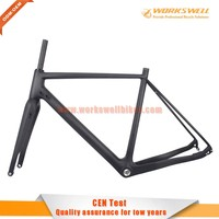 carbon road cyclocross frame 2016 carbon frameset cyclocross with good quality carbon bicycle frame
