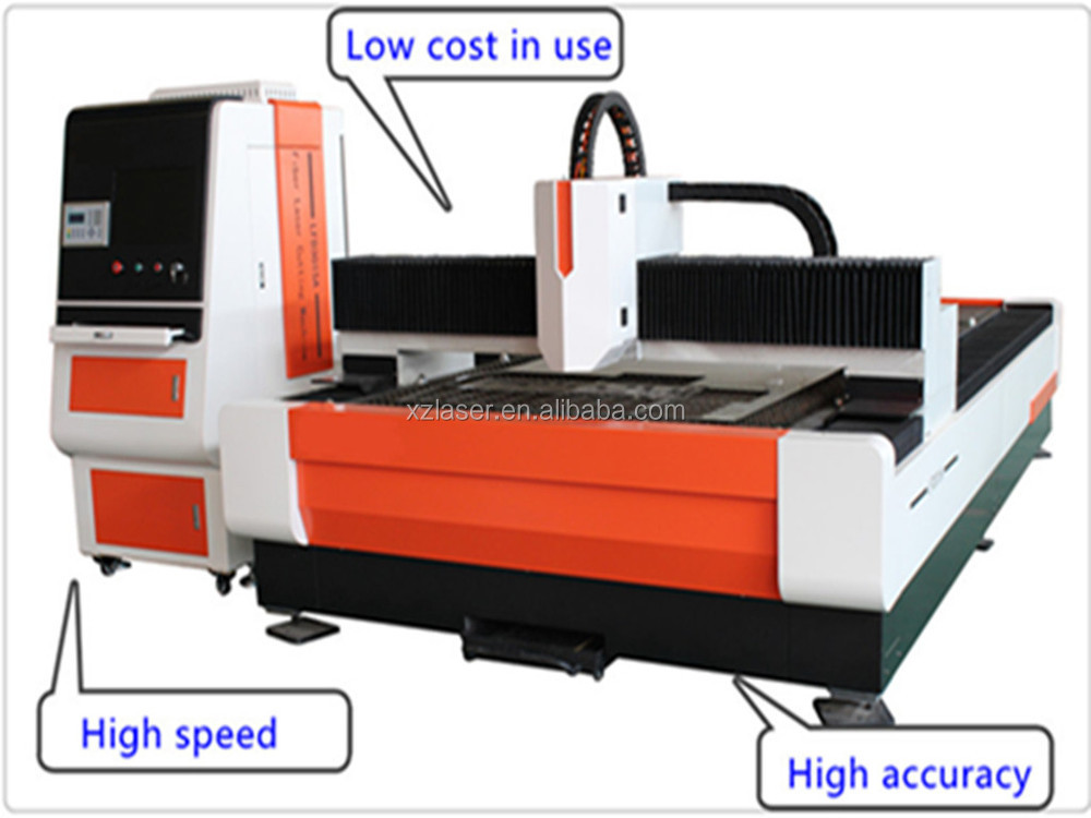 CNC Fiber YAG Sheet Metal 300W/500W/650W/750W/1000W/2000W Laser Cutting Machine