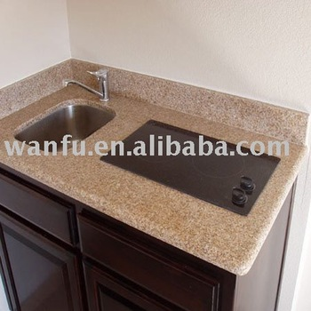 Kitchenette Countertop with bar sink