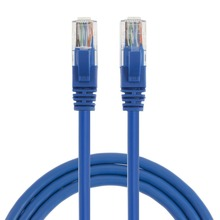 Wholesale Blue CAT 6a Ethernet Patch Cable 20 Feet RJ45 Computer Network Cord Cat 6a Patch Cord Lan Cable UTP 23AWG