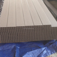 High Quality Outdoor Plastic Wood Floor Tiles/Easy Installation WPC Decks