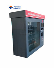 Good quality computer parts vending machine with multi adjustable channels