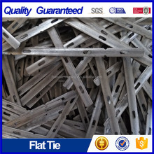 "Heavy duty X flat tie 10 "" flat ties concrete forms"