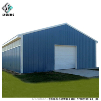 Steel Structure Prefab Sandwich Panel Construction Garden Shed