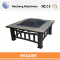 Outdoor heater fancy steel from medium to large size fire pits