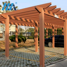 Save maintenance costs Good machinability outdoor pillars canopy patio pergola gazebo wpc pergola