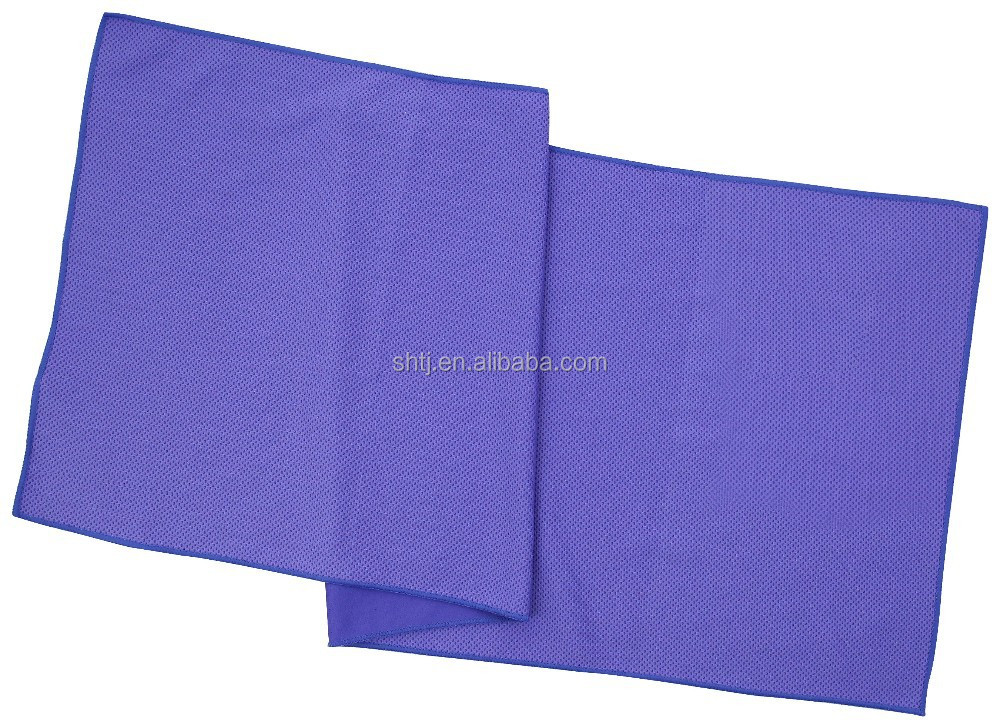 wholesale 100% polyester fabric knitted purple super water absorbent magic towel