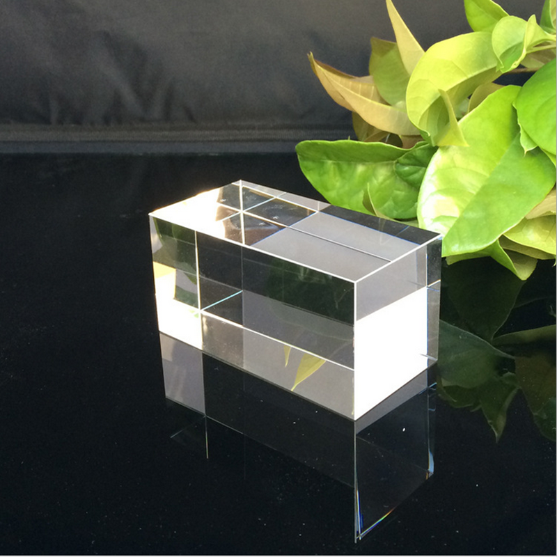 Wholesale k9 glass lasing trophy block clear 3d laser etched crystal cube engraved wholesale decorative glass blocks