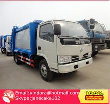 China mini small 5 ton capacity compactor garbage truck for sale