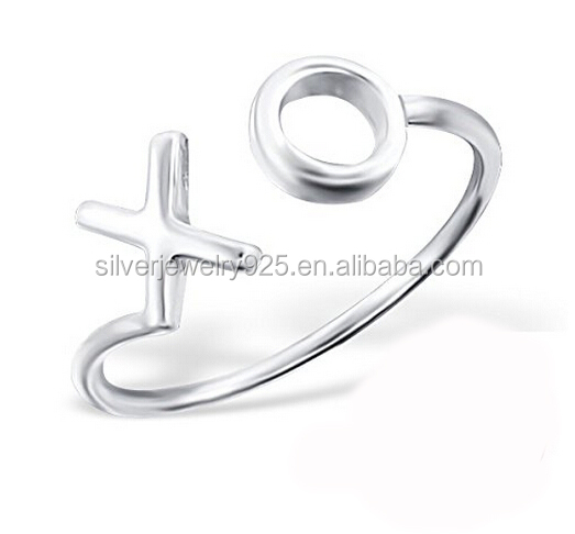 Xuan Huang Jewelry XO Knuckle Silver Hot sale Ring Made in China