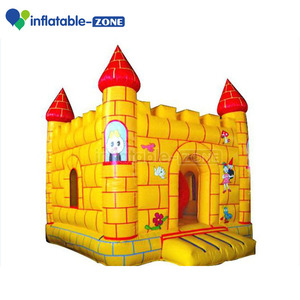 inflatable play castle,inflatable play golden bouncer castle