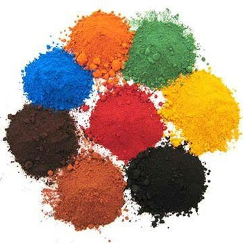 magnetic iron oxide pigment red yellow black