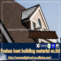 high quality temporary building materials coffee brown roof tiles nigeria hot sale / Soncap Certificate 5 tab asphalt shingle