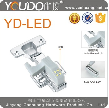 LED light for hinge