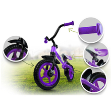 2017 cheap mini push bike steel kids first training balance bike