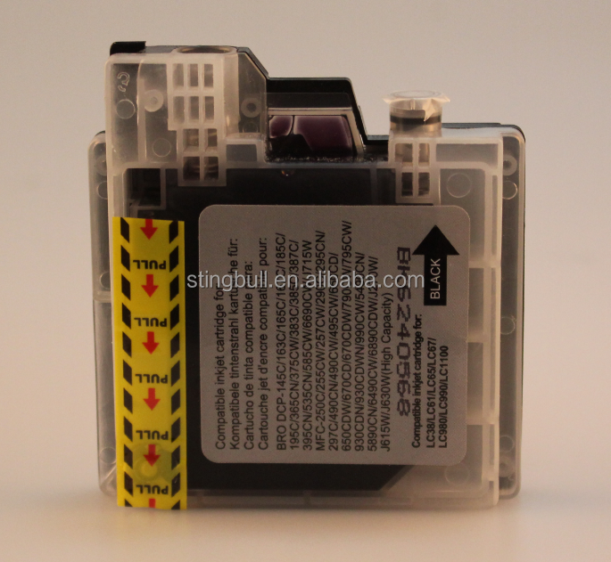Compatible ink cartridge for Brother LC61