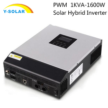 1kw 220Vac 24Vdc 50Hz Solar Hybrid Inverter Regulator Inbuilt-in 30A Solar Controller for solar panel system PS-1kVA