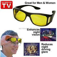 Night View Glasses HD Night Vision Unisex Driving Eyewear Nice Over Wrap Around Glasses