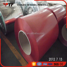 China factory prepainted galvanized steel coil used in clapboard