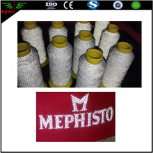 hi viz reflective yarn for sewing 3m reflective thread / retro reflective yarn reflective sewing thread
