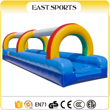 Commerial funny inflatable water slip and slide for kids