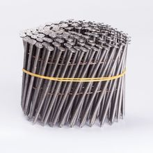 high carbon steel collated coil roofing nails
