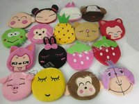 Cute Cartoon change Coin Purses Wallet plush Wallets Bag Case handbag--17 styles