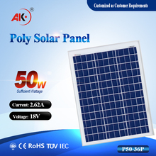 wholesale china manufacturer with 50w solar panel for South Africa, Middle East market,with very compertive price