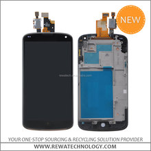 For LG Nexus4 E960 LCD display,for LG Nexus Google 4 E960 LCD Touchscreen Digitizer Assembly