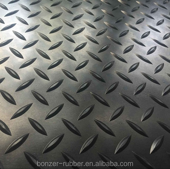 1 inch thick rubber mat roll