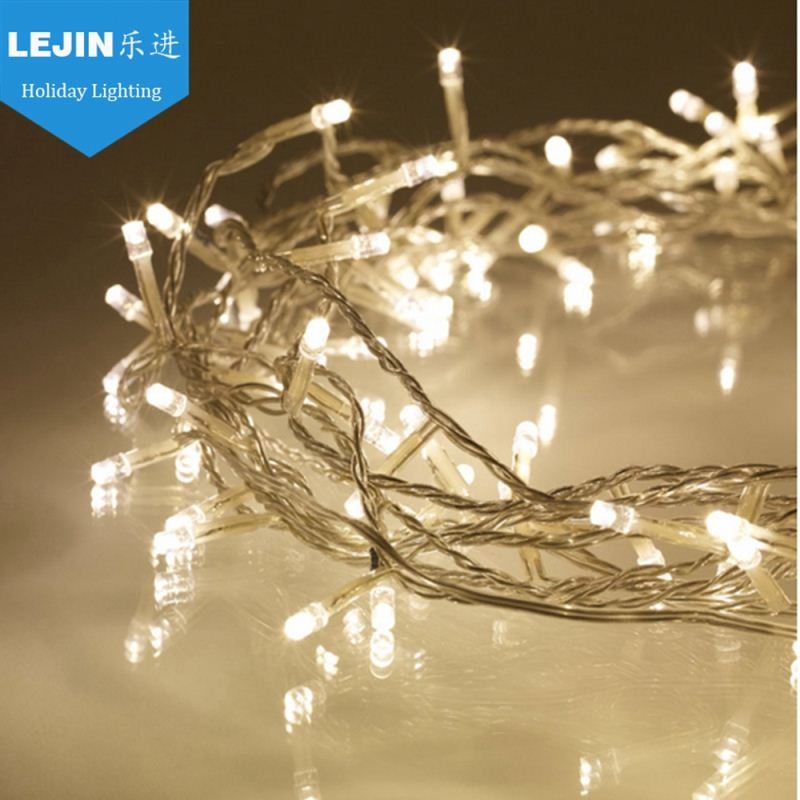 warm white led christmas string light for decoration