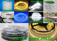jrled waterproof 24w 1000lm 6500k 300-3528 smd led white light strip - white (ac 220v / 5m)