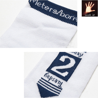 New style hot sell week socks cheap Sports White Days of A Week 100% organic cotton Socks