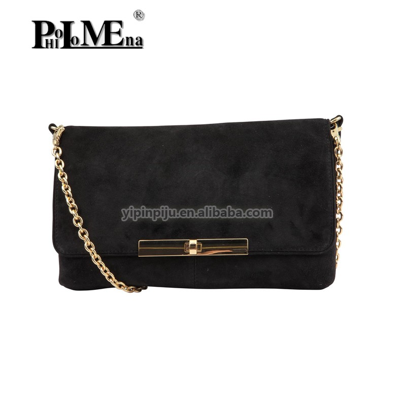 cross body bag with chain 2016 new ladies leather handbag clutch wallet for selling customzied design