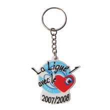 Sweet heart couple wedding soft pvc keychain for festival gifts