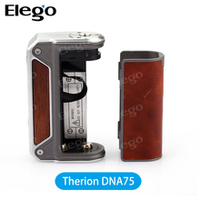 New Authentic Therion Dna75 lost vape Therion DNA 75W box mod elego large in stock lost vape DNA75