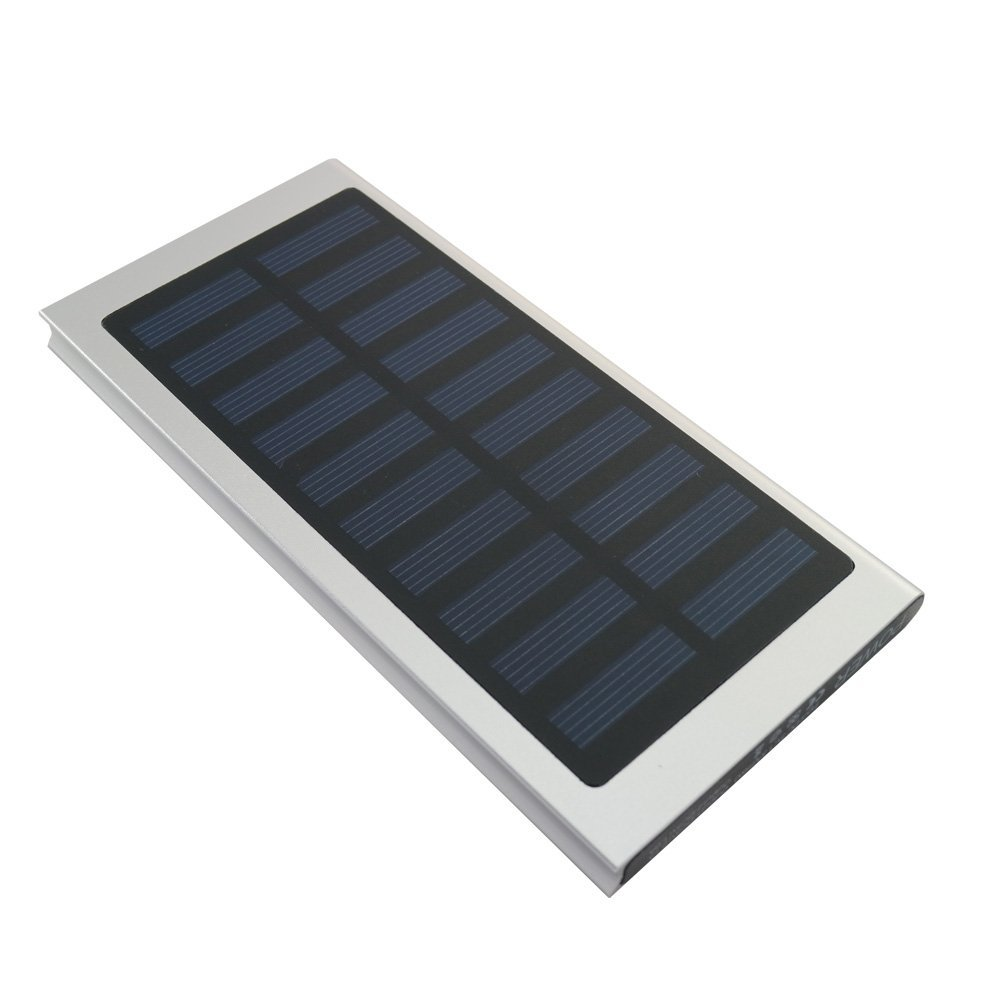 2017 Ultra Slim <strong>Solar</strong> Power Bank 20000mAh Portable <strong>Solar</strong> Charger Aluminum External Battery Backup Ultra Thin <strong>Solar</strong> Power bank