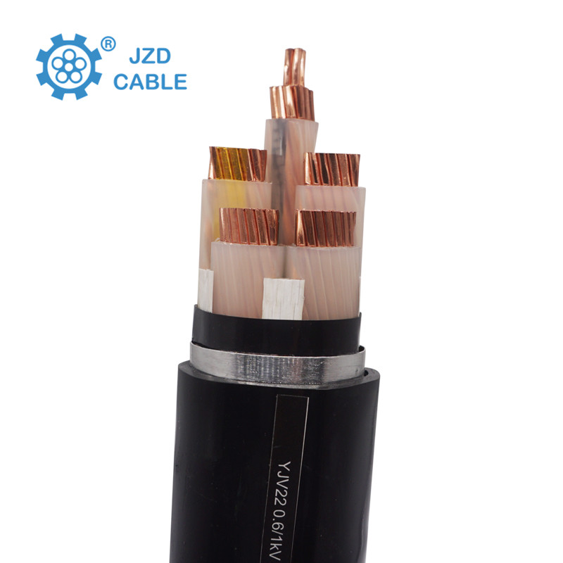 Armoured electrical cable yjv32 0.6/1kv 500mm copper wire