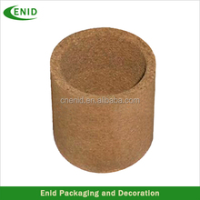 new products cork table decoration storage container natural material pensil holder