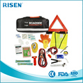 Jumper Cables, tools, Roadside Assistance Auto Emergency Kit+ First Aid Kit