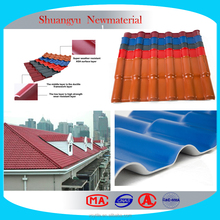 Spanish Corrugated Plastic Roofing Sheets/Soundproof Roofing Sheets