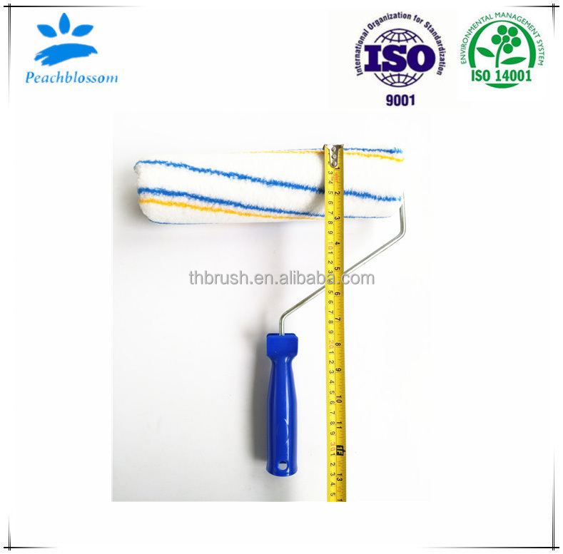 Factory Price Dreative Paint Roller Brush Plastic Handle Manufacturer