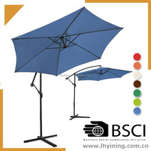 hanging umbrella with base 10 feet printing hanging parasol 300cm outdoor patio umbrella 3m offest umbrella