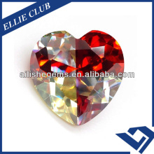 Special design HT 7.5mm Mixed Colors Lab Russia CZ Zirconia