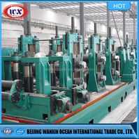 High Frequency weld Steel pipe making machine