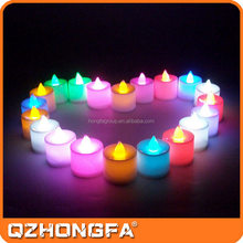 New Wholesale Pink Color Tea Light Type candle with good quality