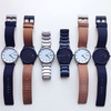 Antique Dull polish strap watch Leisure Dress Watch Waterproof Seven Colors Wholesale Classic style casual Quartz Watches