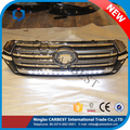 High Quality New 2017 Chrome Front Grille For Toyota Land Cruiser LC200